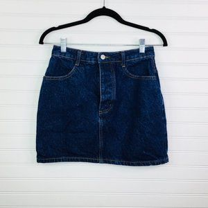 JOHN GALT: Button Fly Denim Skirt